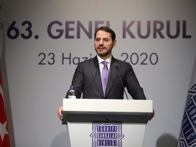 Albayrak believes in V shaped recovery urging banks to lend more