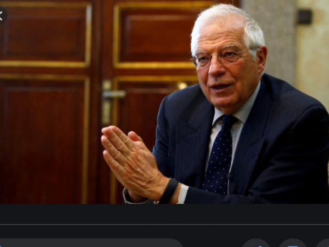 Josep Borrell: Three old empires are coming back; Turkey is one of them