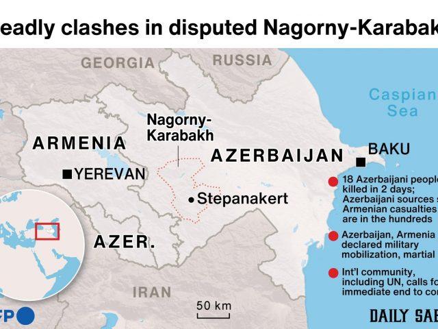 TL shaken by Azerbaijan-Armenia clashes