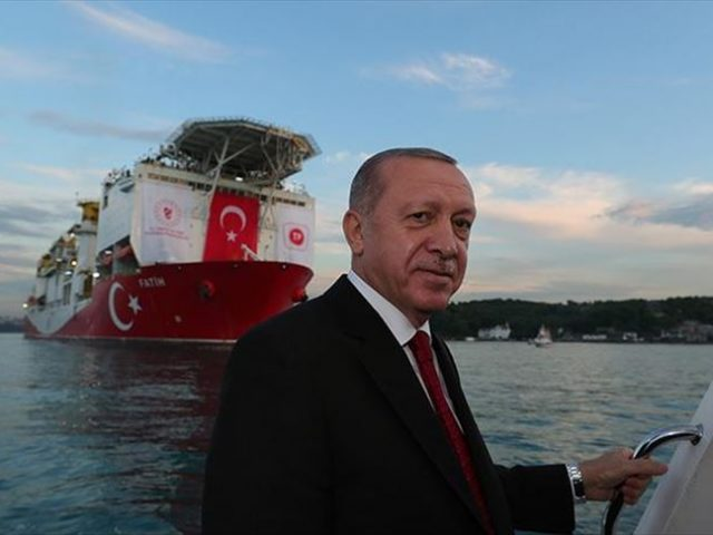 CORRECTED:  Erdogan fires a blank in natural gas games