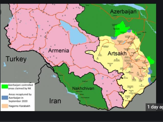 BREAKING: Azerbaijan and Armenia agree to (the second) cease fire